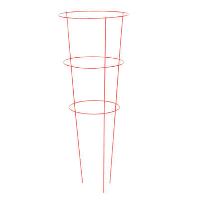 Panacea  42 in. H x 14 in. W Red  Steel  Tomato Cage