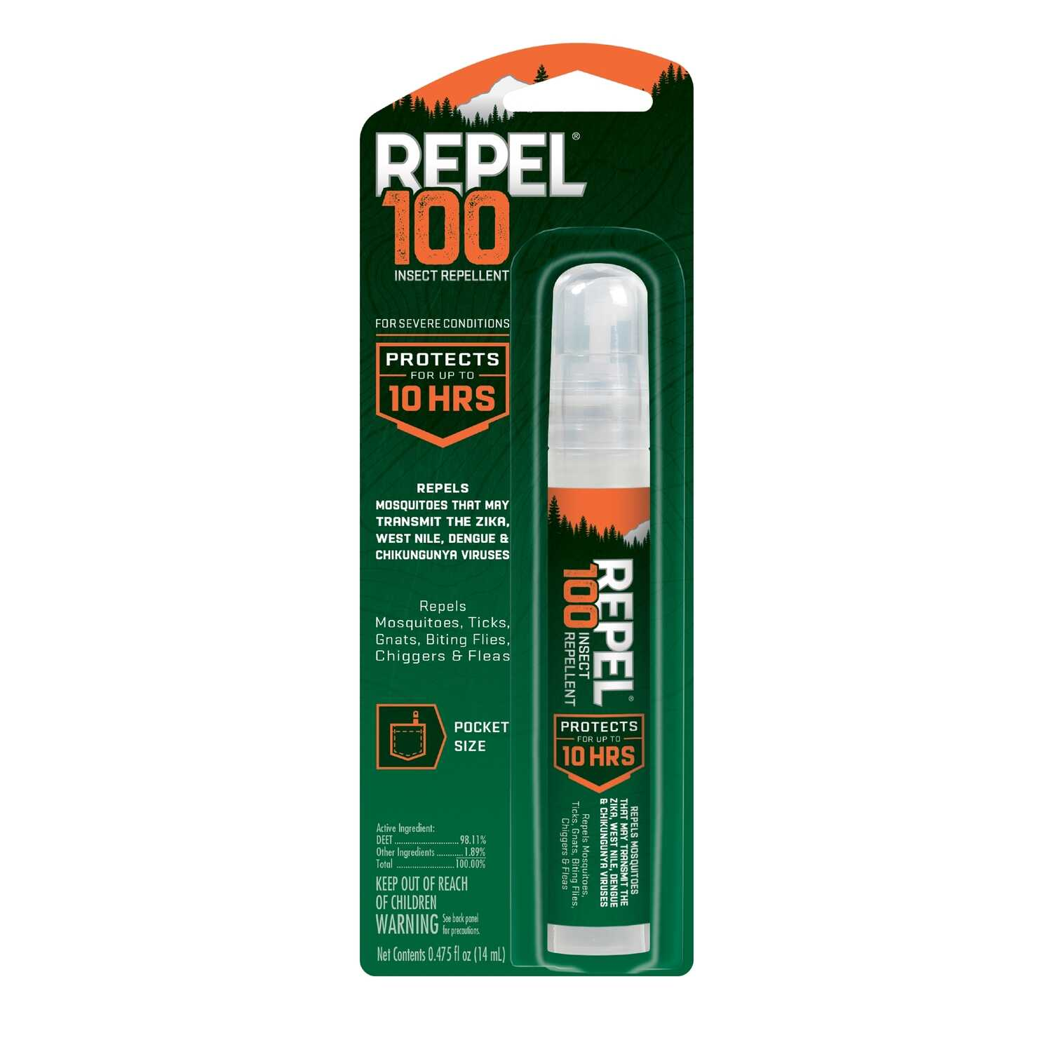 Repel Insect Repellent Liquid For Ticks, Chiggers, Biting Flies