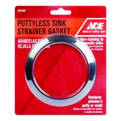 Ace  Rubber  3-3/8 in. Dia. x 4-1/4 in. Dia. Sink Strainer Coupling
