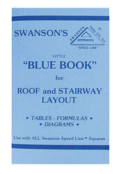 Swanson  Little Blue Book  Roof and Stairway Layout  Instruction Manual