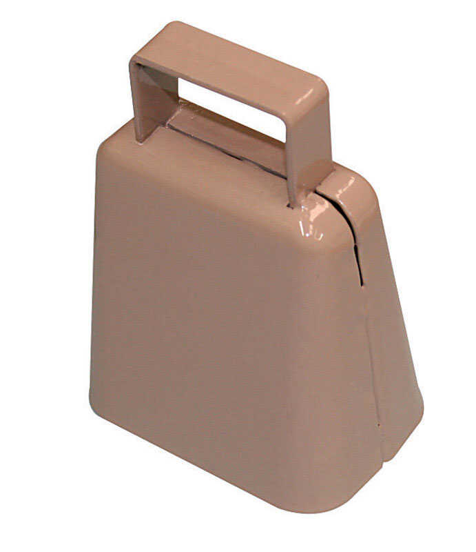 SpeeCo  Steel  2-5/8 in. H Cowbell
