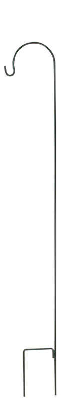 Woodlink  Audubon  Green  Steel  88 in. H Single Crook  Plant Hanger  1 pk