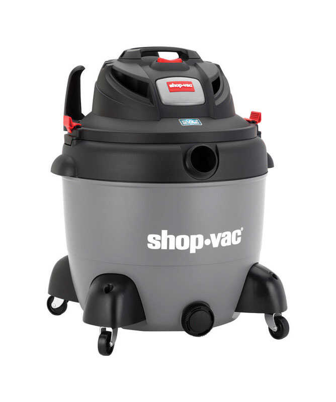 Shop-Vac  SVX2  18 gal. Corded  Wet/Dry Utility Vacuum  6.5 hp 12 are 110 volt Gray  28 lb.