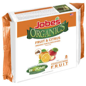 Jobe's  Organics Fruit & Citrus  3-5-5  Fertilizer Spikes  15 pk