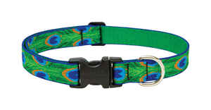 Lupine Pet  Original Designs  Tail Feathers  Nylon  Dog  Adjustable Collar