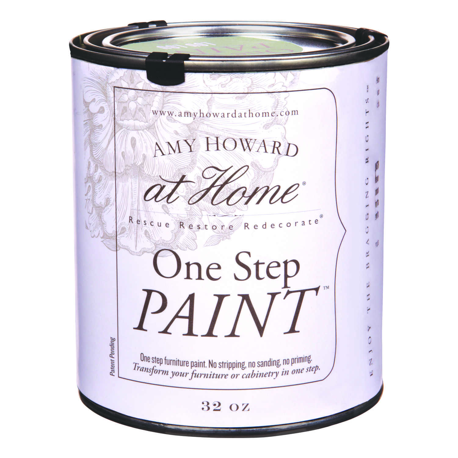 Amy Howard at Home  Flat Chalky Finish  Lou Lou  Latex  One Step Paint  32 oz.