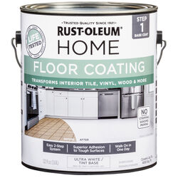 Rust-Oleum  Home  Ultra White  Floor Paint  1 gal.