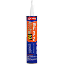 Loctite  PL Window, Door and Siding  White  Polyurethane  Sealant  10 oz.
