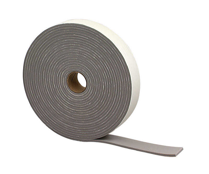 M-D Building Products  Gray  Foam  30 ft. L x 3/16 in.  For Camper and Truck Weather Stripping