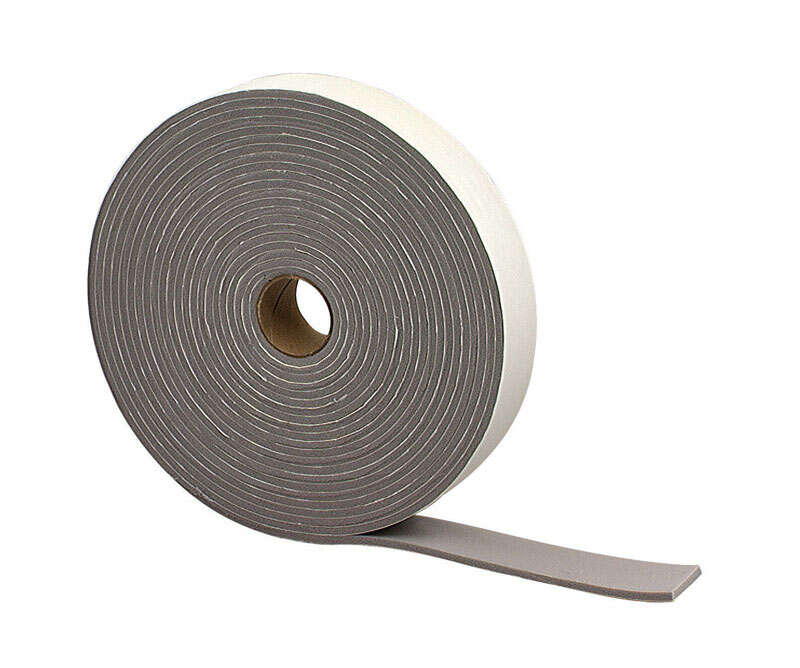 M-D  Gray  Foam  Weather Stripping Tape  For Campers and Trucks 30 ft. L x 3/16 in.