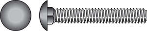 HILLMAN  3/8  Dia. x 8 in. L Zinc-Plated  Steel  Carriage Bolt  50 pk