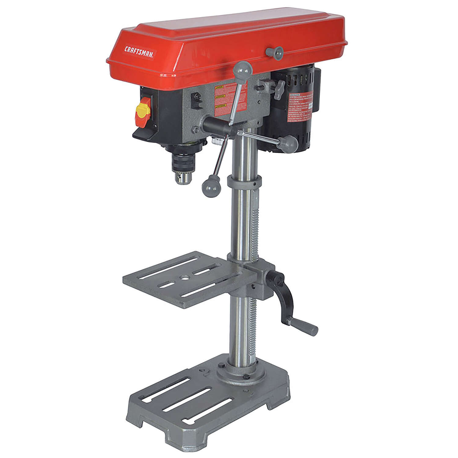 Craftsman 10 in. 5-Speed Drill Press 3.2 amps 2800 rpm ...