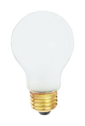 Satco  60 watt A19  A-Line  Incandescent Bulb  E26 (Medium)  Soft White  2 pk
