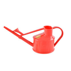 Haws  Red  0.1 gal. Plastic  Watering Can