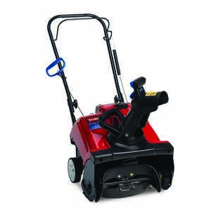 Toro  PowerClear 518  18 in. W 99 cc Single-Stage  Manual Start  Gas  Snow Blower