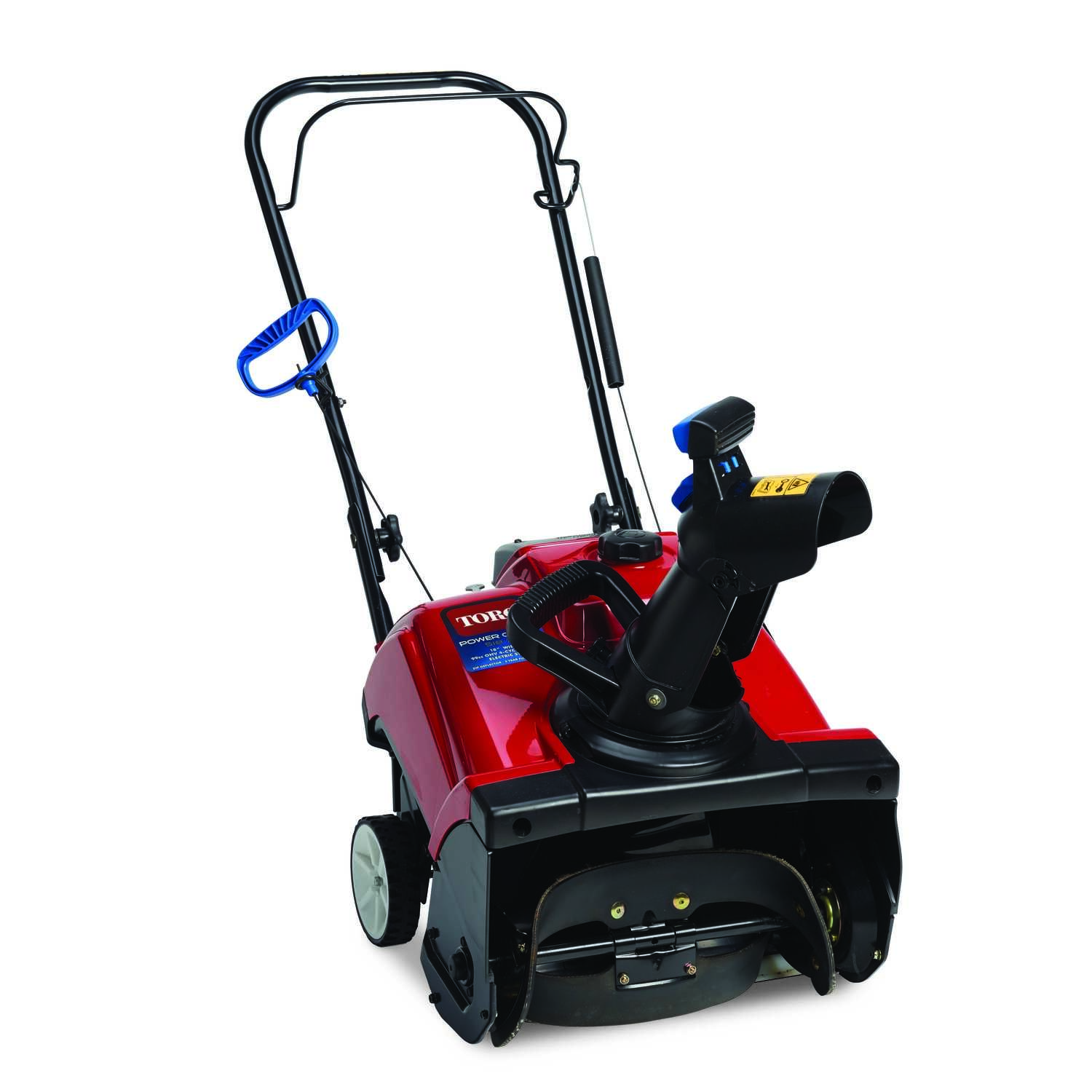 Toro  PowerClear 518  18 in. W 99 cc Single-Stage  Manual Start  Snow Blower