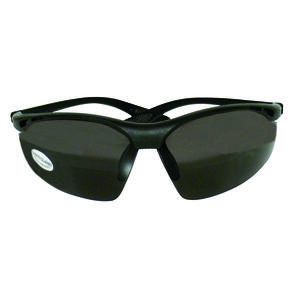 Sierra Ranch  Bi-Focal Safety Readers  Smoke Lens Black Frame 1 pc.