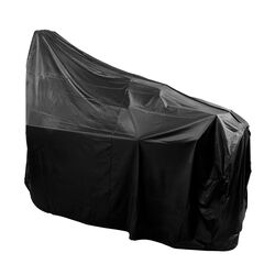 Char-Broil  Black  Smoker Cover  57.5 in. W x 28 in. D x 55 in. H For 5,6 or 7 Burner Gas Grills, X-