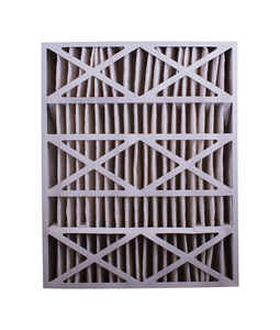 BestAir  25 in. W x 20 in. H x 2 in. D 8 MERV Pleated Air Filter