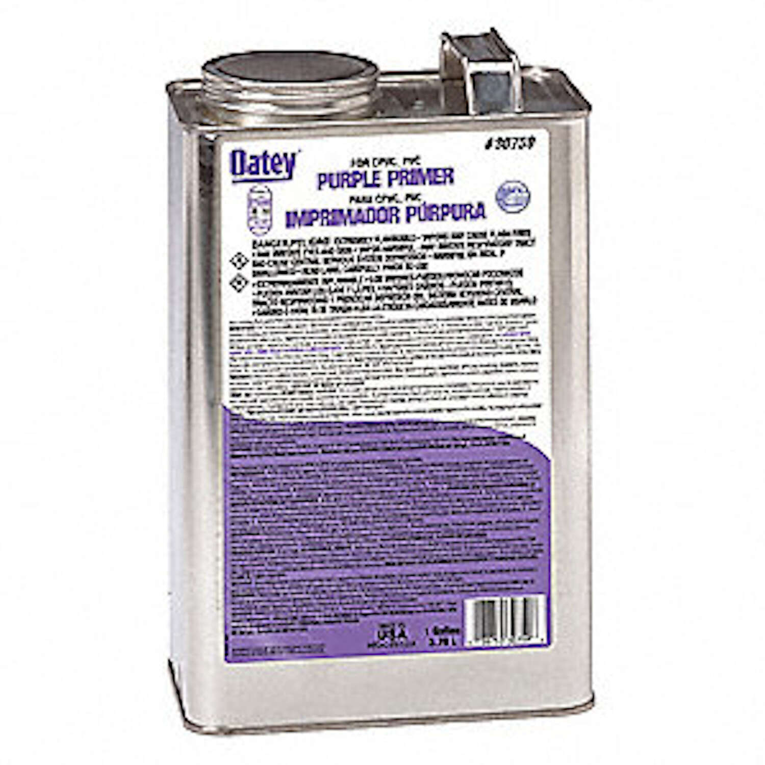 Oatey  Primer and Cement  Purple  1 gal. For CPVC/PVC
