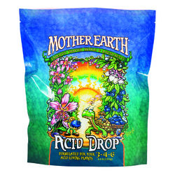 Mother Earth Acid Drop Formulated For Your Acid-Loving Plants 3-4-6 Hydroponic Plant Nutrients 4.