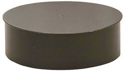 Imperial  8 in. Dia. Galvanized steel  Stove Pipe Cap