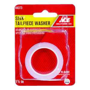 Ace  1-1/2 in. Dia. Poly  Tailpiece Washer  1 pk