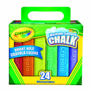 Crayola  Assorted  Chalk  24 pk