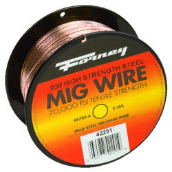 Forney  ER70S-6  0.03 in. Mild Steel  MIG Welding Wire  70000 psi 2 lb.