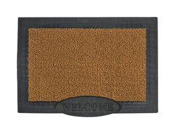 Grassworx 36 ft. L x 24 ft. W Black/Brown Rectangle Polyethylene Door Mat