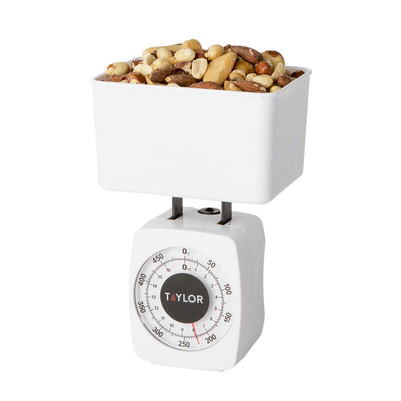 Taylor  Analog  Food Scale  1 Weight Capacity White