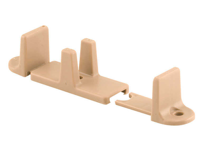 Prime-Line  Tan  Plastic  Adjustable Floor Guide  1 pk