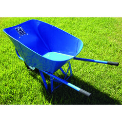 Wellmade Products  Miller  Steel  Contractor Wheelbarrow  6 cu. ft.