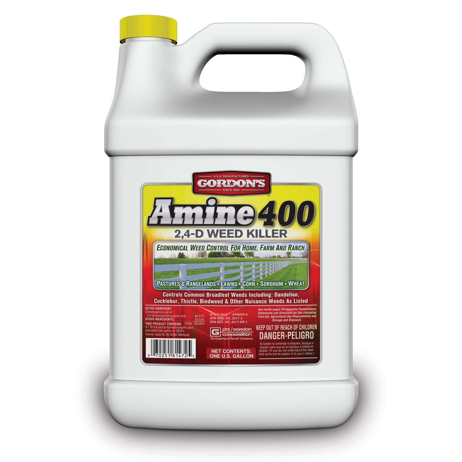 Gordon's  Amine 400  Broadleaf Weed Killer  Concentrate  1 gallon gal.