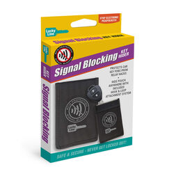 Lucky Line Signal Blocking Nylon Black Key Hider