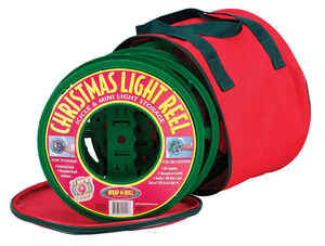 Dyno  Christmas  Light Reel/Storage Bag  Red  Polyester  3 pk