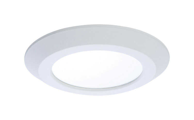 Halo  8.8 in. H x 8.3 in. W x 3.2 in. L White  Downlight