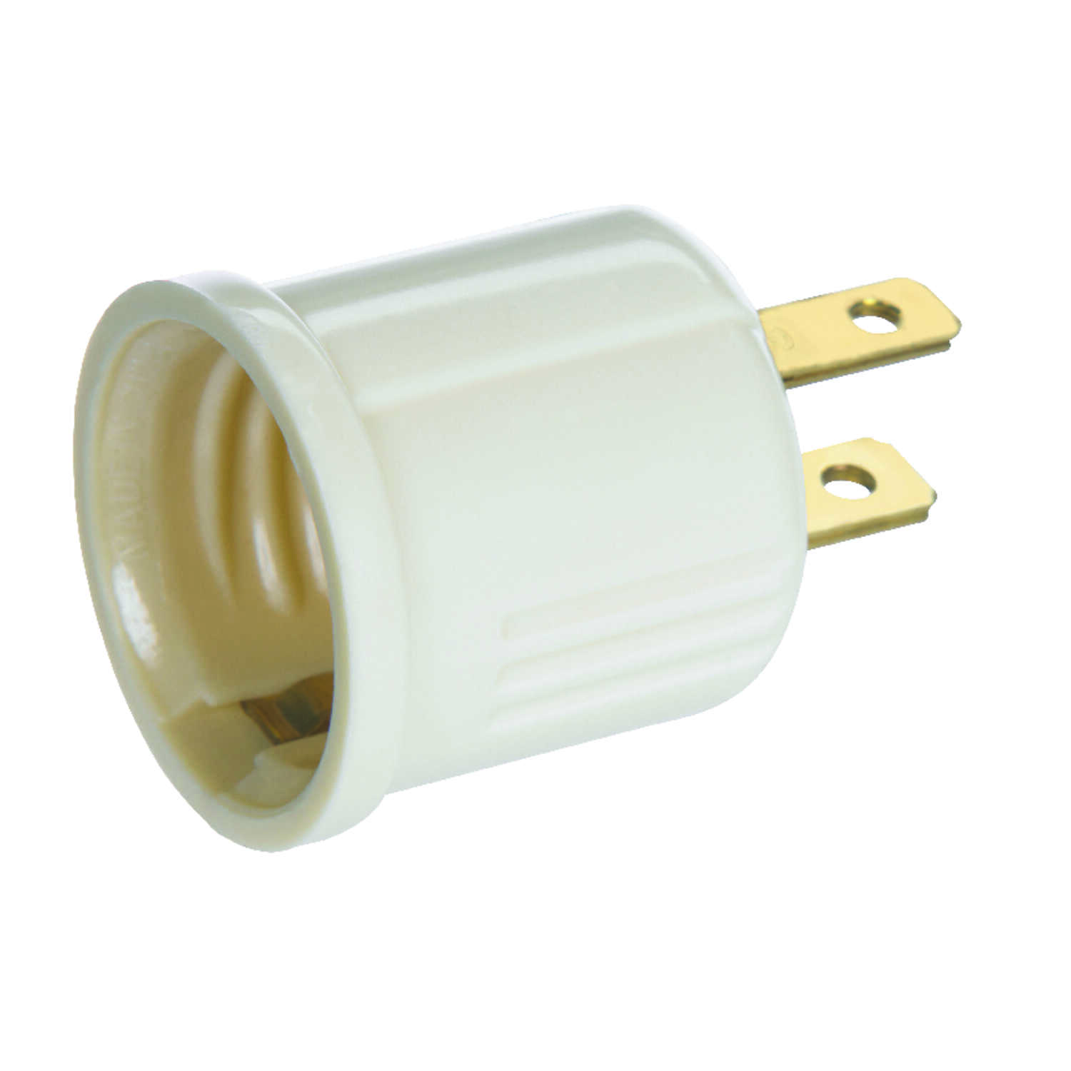 Ace  Polarized  1  Outlet To Keyless Socket  Surge Protection 1 pk