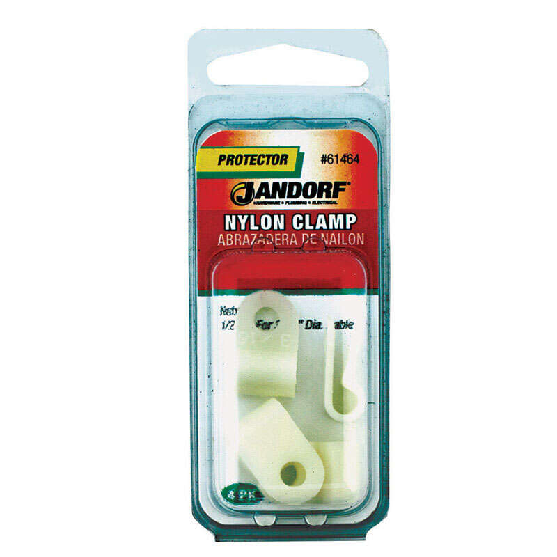Jandorf  Nylon  Cable Clamp  4  3/16 in. Dia.