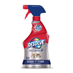 Resolve  Pet Oxi Advanced  No Scent Carpet Cleaner  22 oz. Liquid