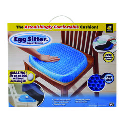 Egg Sitter Astonishingly Comfortable Seat Cushion Polyacrylamide Gel Core 1 pk