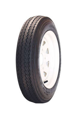 MARASTAR  12 in. Dia. x 20.3 in. Dia. 990 lb. capacity 4-Bolt  Tire  Rubber  1 pk