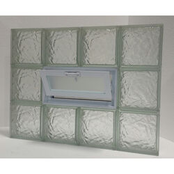 Clear Choice  24 in. H x 32 in. W x 3 in. D Ice  Vented Panel