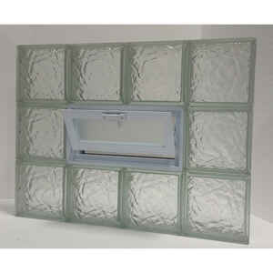 Clear Choice  24 in. H x 32 in. W x 3 in. D Vented Panel