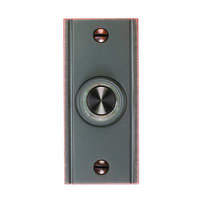 Deals on Carlon Oil Brushed Bronze Brass Wired Pushbutton Doorbell