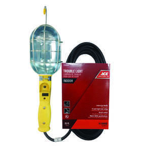 Ace  75 watts Incandescent  Work Light
