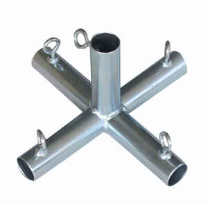 AHC  1 in. Round   x 1 in. Dia. Carbon Steel  Connector