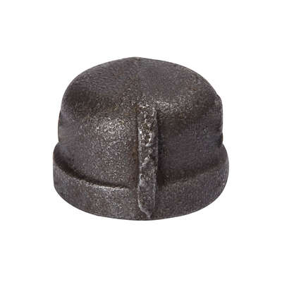 BK Products  Southland  3 in. FPT   Black  Malleable Iron  Cap