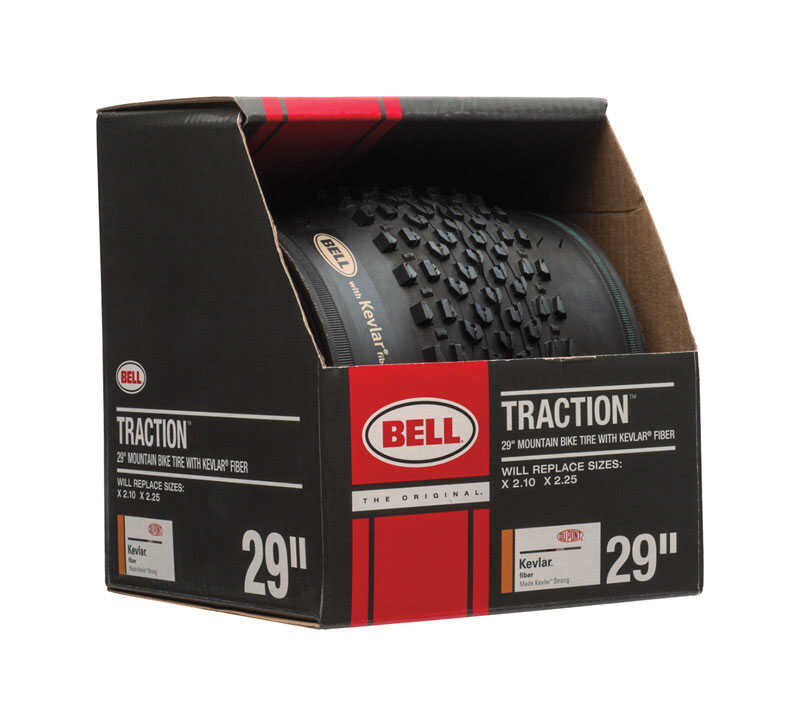 Bell Sports  Traction  Rubber  29 x 2.10 - 2.25  Bicycle Tire  1 pk