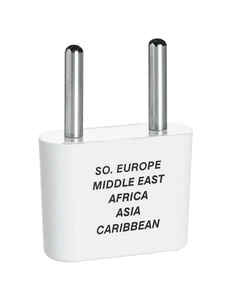 Travel Smart  Type E  For Worldwide Adapter Plug In
